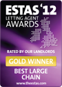The ESTAS Letting Agent Awards 2012 — Gold Winner